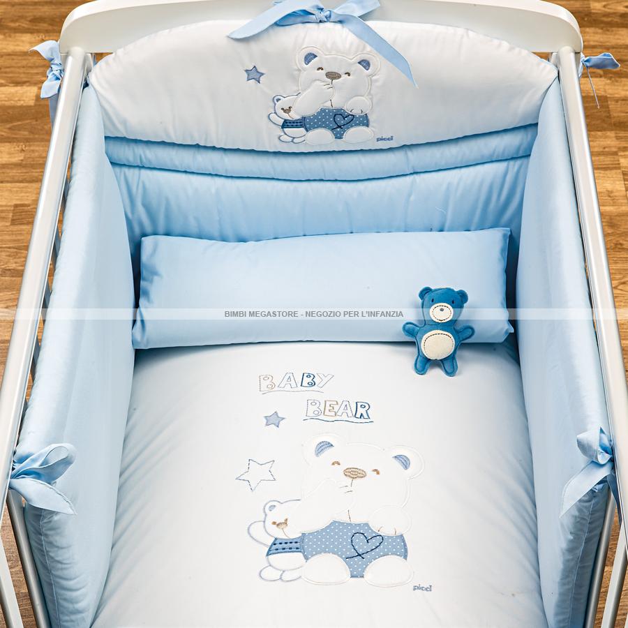 Picci mami piumetto letto 3 pz baby bear bimbi megastore - Barriere letto bimbi ...