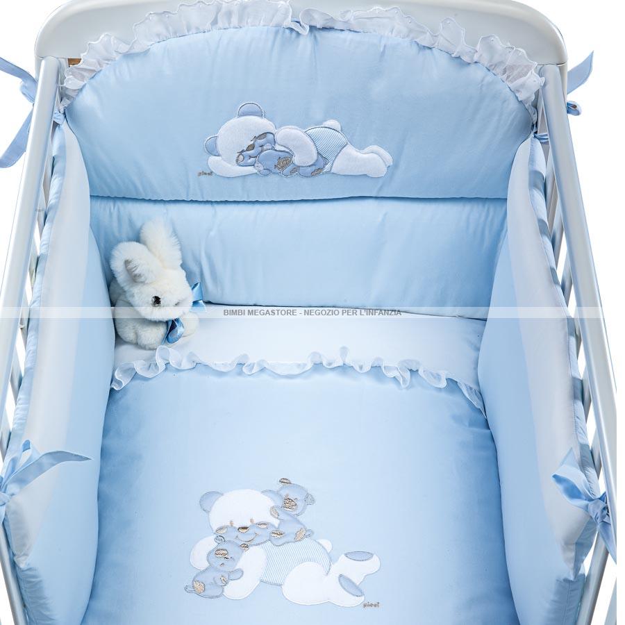 Picci bebe 39 piumetto letto 3pz sfilabile bimbi megastore - Barriere letto bimbi ...