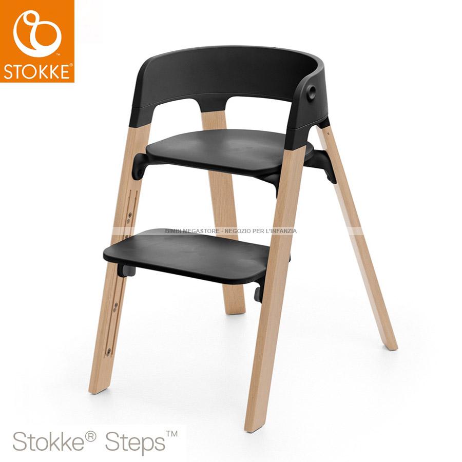 stokke stokke steps sedia bimbi megastore. Black Bedroom Furniture Sets. Home Design Ideas