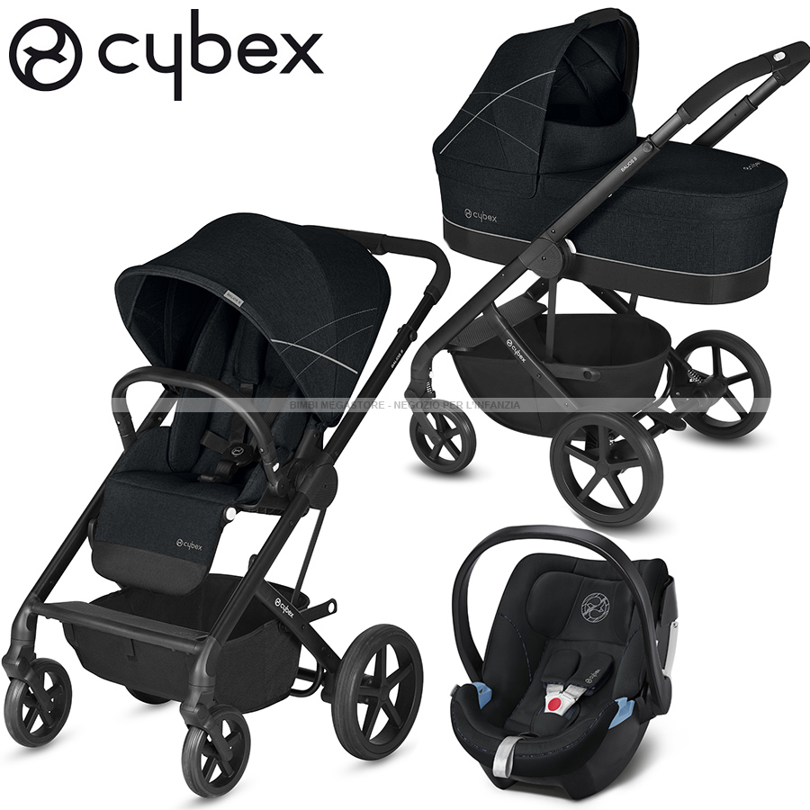 cybex balios s trio con aton 5 bimbi megastore. Black Bedroom Furniture Sets. Home Design Ideas