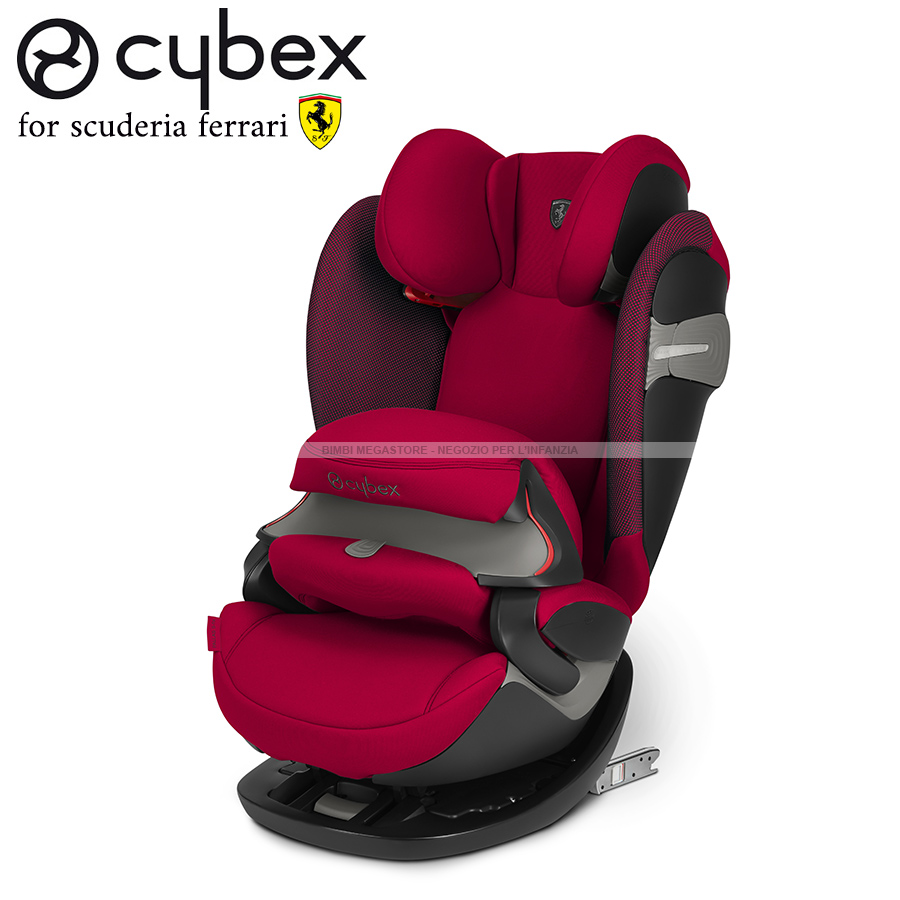 cybex pallas s fix scuderia ferrari bimbi megastore. Black Bedroom Furniture Sets. Home Design Ideas