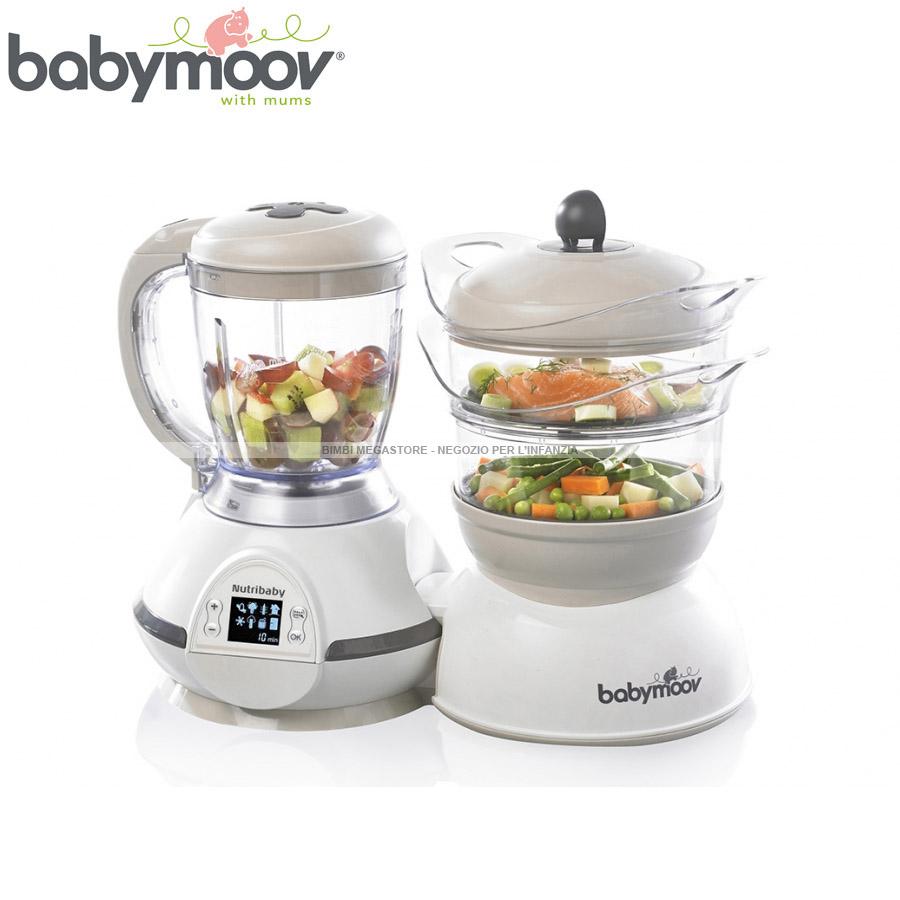 Babymoov nutribaby robot da cucina bimbi megastore - Robot per cucinare ...
