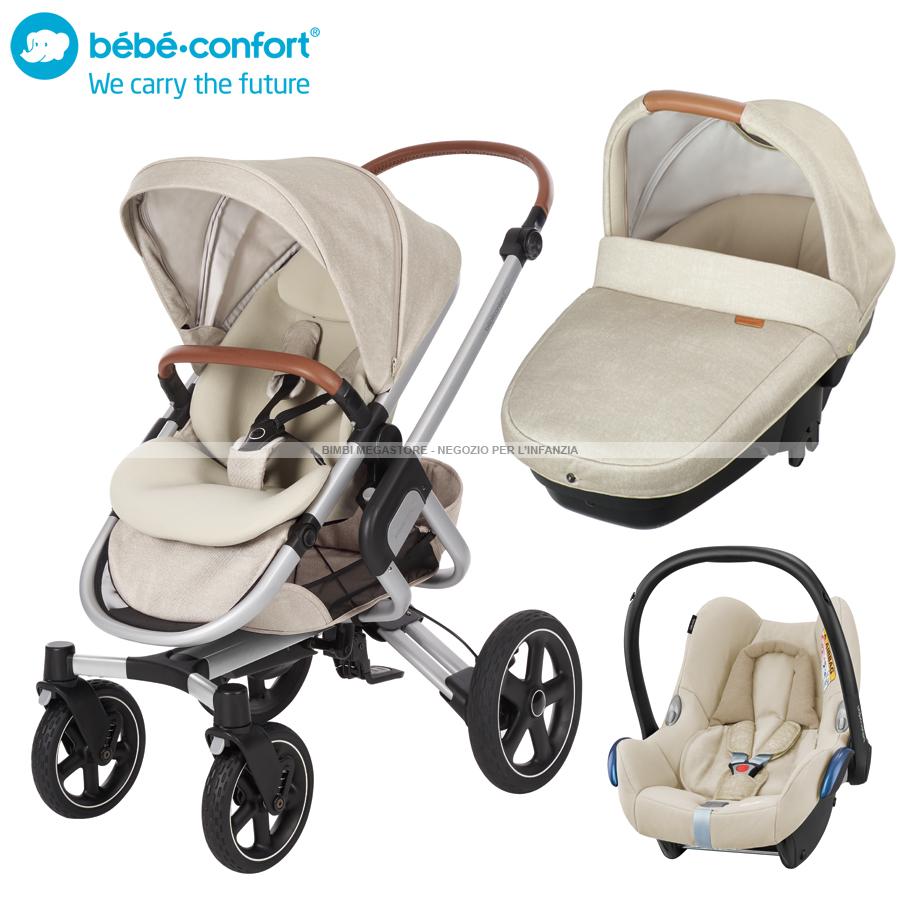 bebe confort trio nova 4 ruote amber bimbi megastore. Black Bedroom Furniture Sets. Home Design Ideas