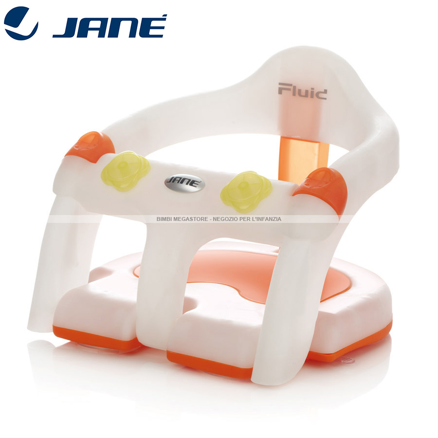 Jane - Seggiolino Da Bagno Bath Ring Set Fluid - Bimbi Megastore