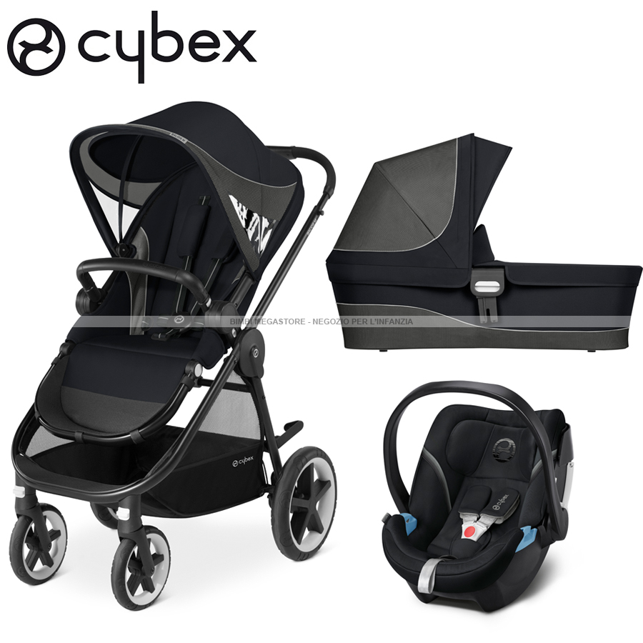 cybex balios m trio con aton 5 bimbi megastore. Black Bedroom Furniture Sets. Home Design Ideas