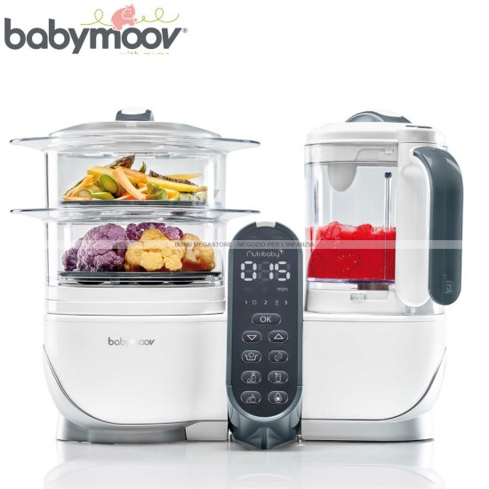 Babymoov nutribaby robot da cucina multifunzione - Robot da cucina chicco ...