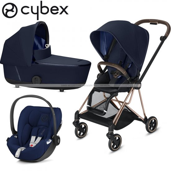 Cybex - Mios Trio Rose Gold Con Cloud Z Isize