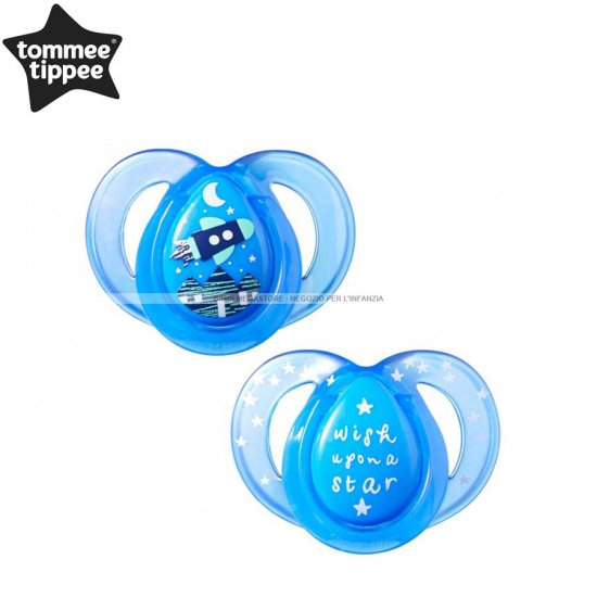 Tommee Tippee - Succhietti Night Time 6-18 M