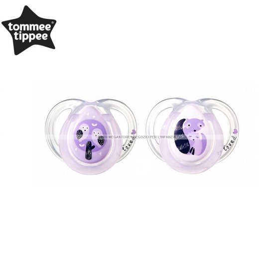 Tommee Tippee - Succhietti Night Time 0-6 M