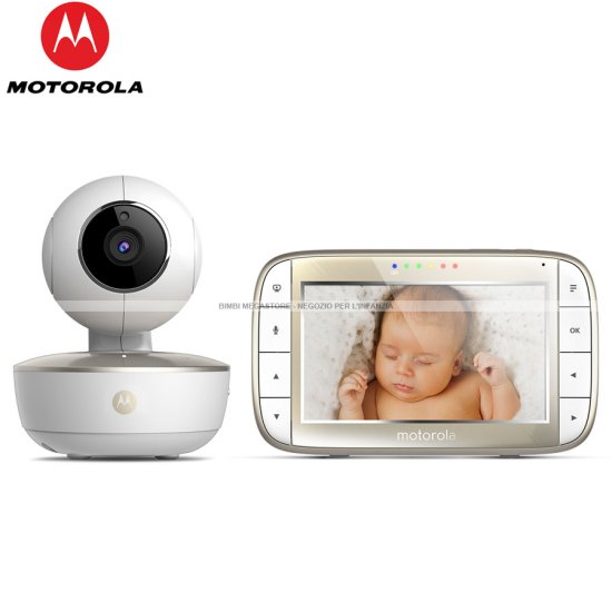 Motorola - Wifi Baby Monitor Mbp855 Connect