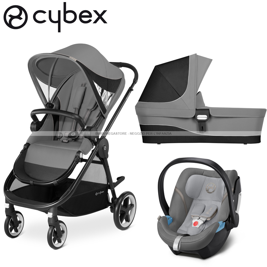 cybex iris m air trio con aton 5 bimbi megastore. Black Bedroom Furniture Sets. Home Design Ideas