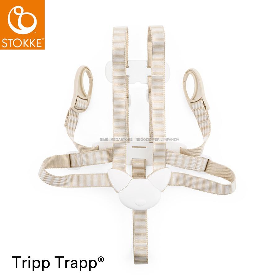 Stokke tripp trapp cinghie di sicurezza bimbi megastore for Seggiolone stokke tripp trapp usato