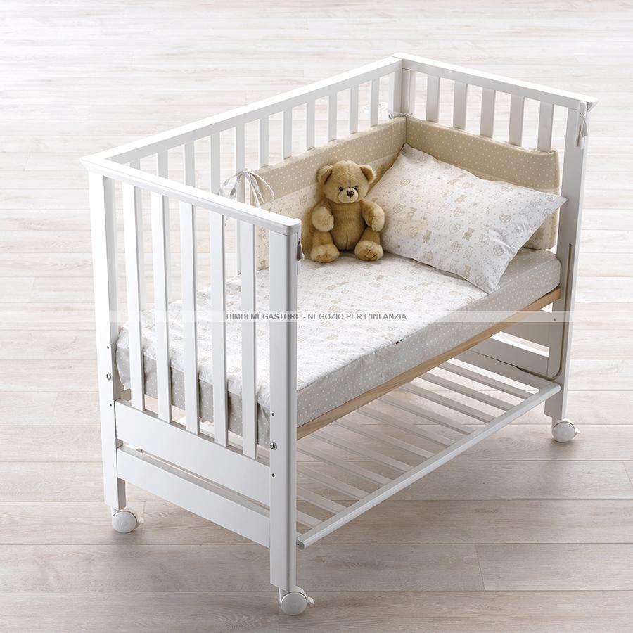 Azzurra design contact culla lettino bimbi megastore - Culla neonato da attaccare al letto ...