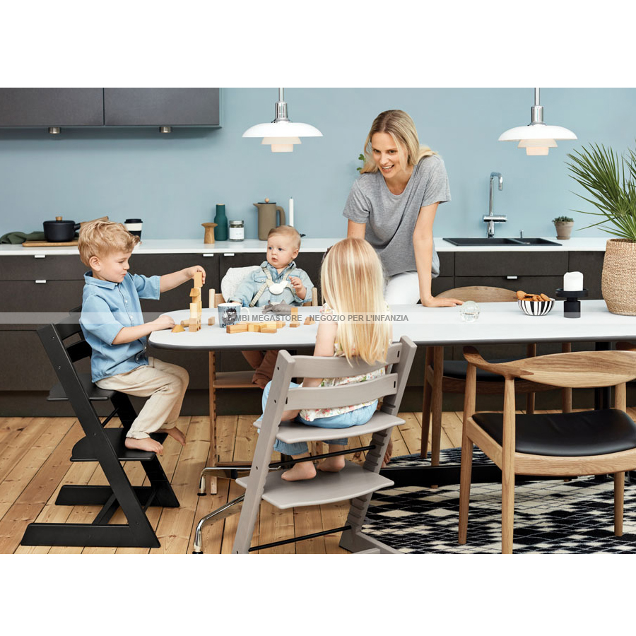 stokke tripp trapp rovere oak bimbi megastore. Black Bedroom Furniture Sets. Home Design Ideas