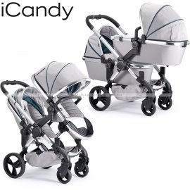 Icandy - Peach Blossom Twin Combo Set Chrome