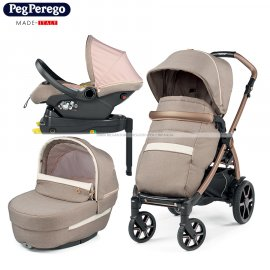 Peg Perego - Book Lounge Modular Trio 2021 Con Base Mon Amour