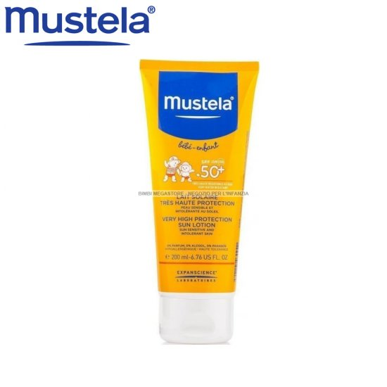 Mustela - Mustela New Latte Solare 50+ 200 Ml