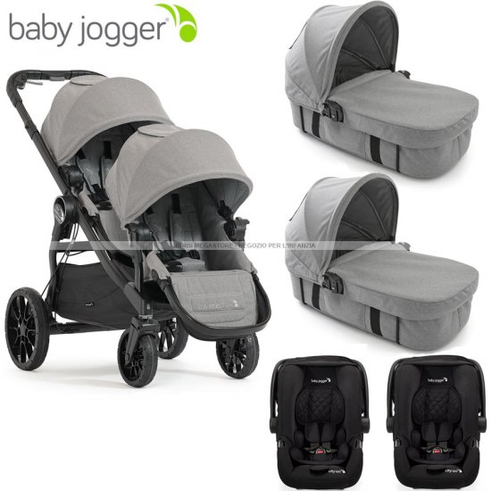 Baby Jogger - City Select Lux Trio Gemellare