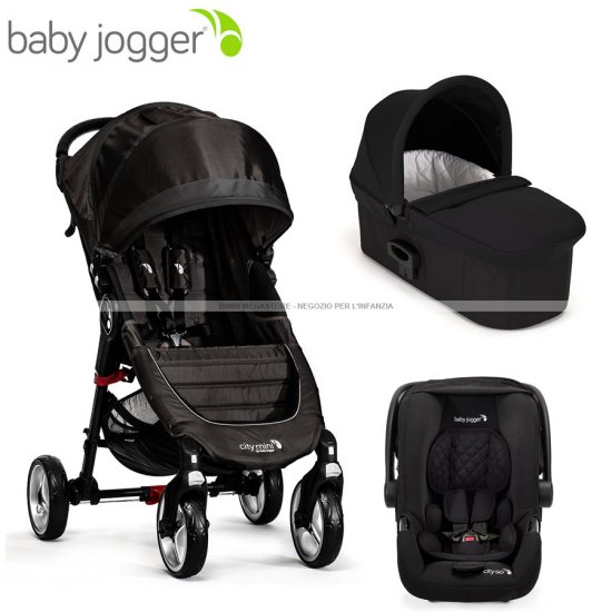 Baby Jogger - City Mini 4 Trio Deluxe
