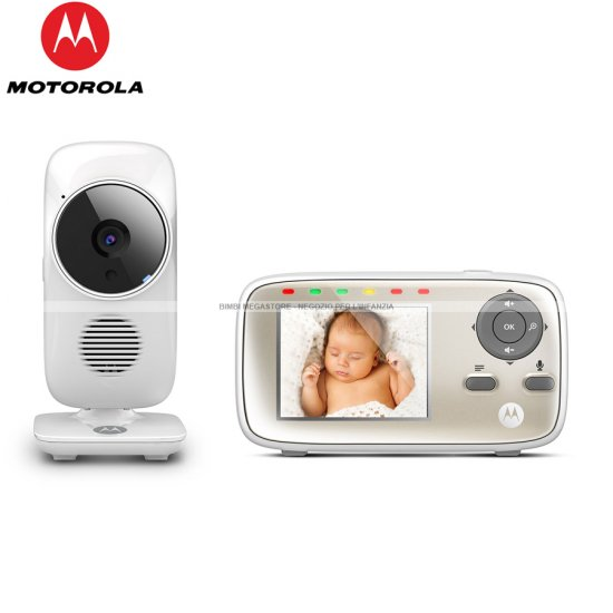 Motorola - Video Baby Monitor Mbp483
