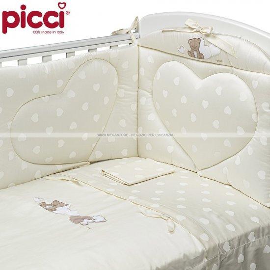 df7c916a99 Picci - Amelie Piumetto Letto 3 Pz. Cuore