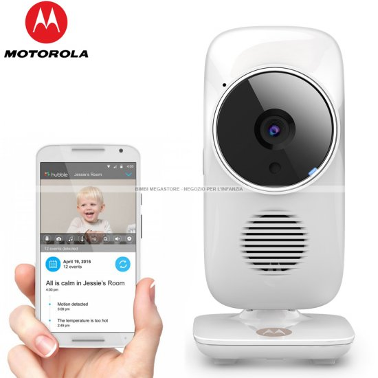 Motorola - Wifi Baby Monitor Mbp67 Connect