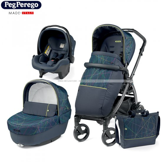 Peg Perego - Book 51 Elite Modular 2020 Trio New Life