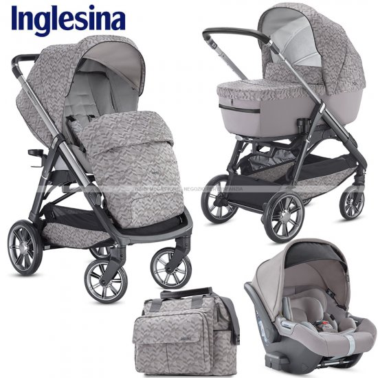 Inglesina - Aptica Trio Summit Jacquard Edition