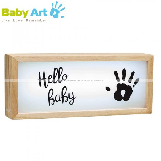 Baby Art - Light Box With Imprint